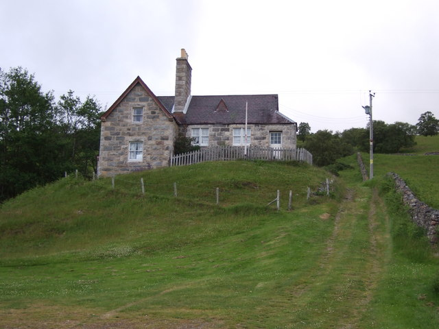 Old schoolhouse near Fearach.