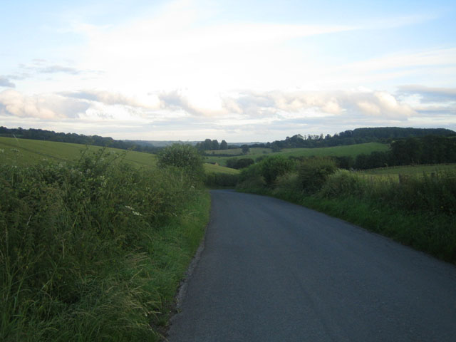 Road near Teffont Magna