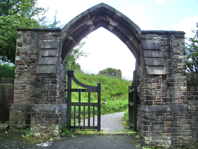 Entrance to St Chad's Graveyard