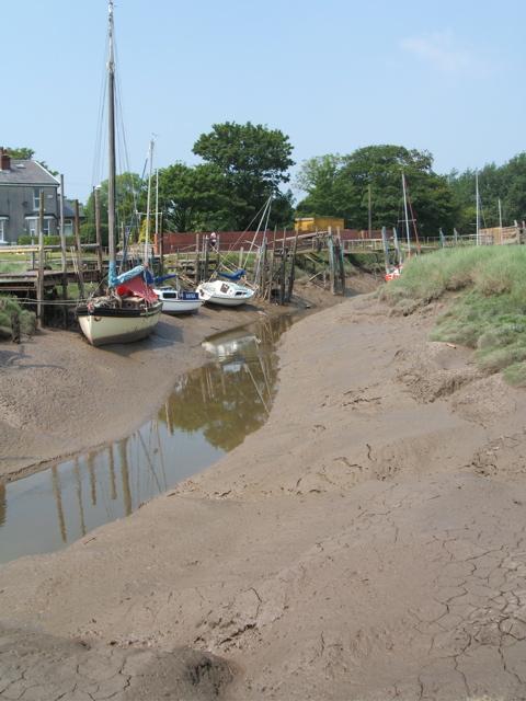 Boats on Skippool Creek