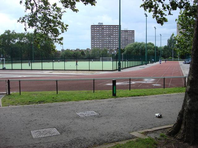 Paddington Recreation Ground Running Track