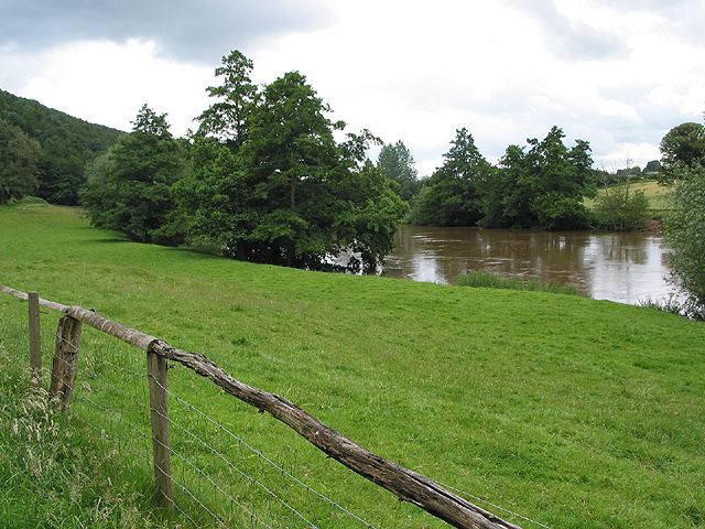 River Wye near Lyndor Wood