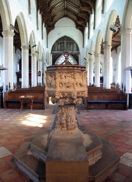 St Catherine, Ludham, Norfolk - Font