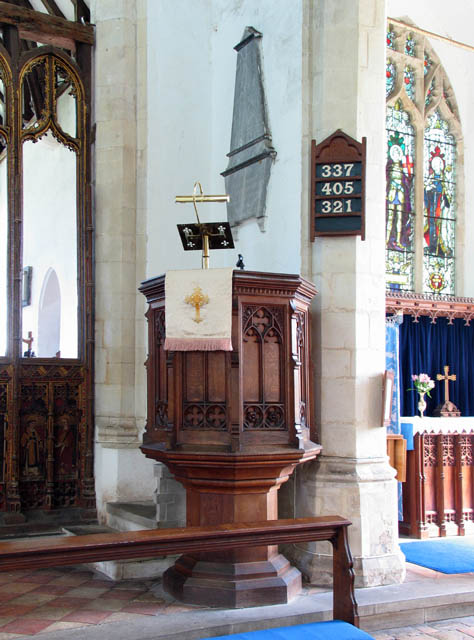 St Catherine, Ludham, Norfolk Pulpit