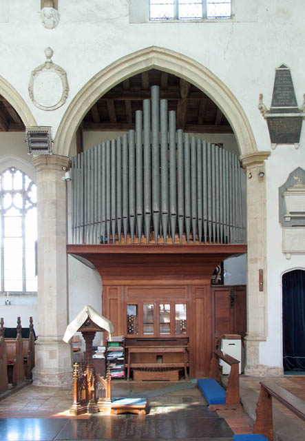 St Catherine, Ludham, Norfolk - Organ