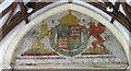 TG3818 : St Catherine, Ludham, Norfolk - Royal Arms by John Salmon