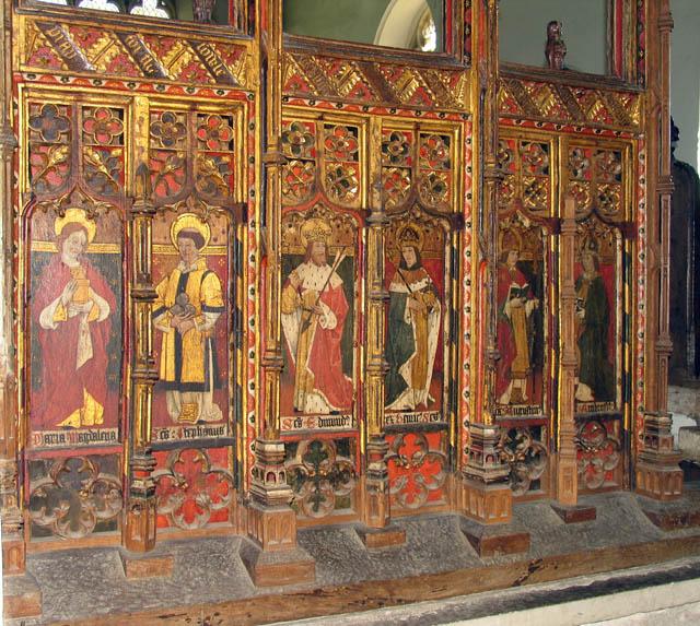 St Catherine, Ludham, Norfolk - Screen