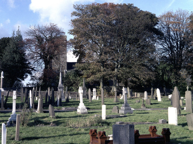 Cemetery at St Mary le Ghyll, near Barnoldswick