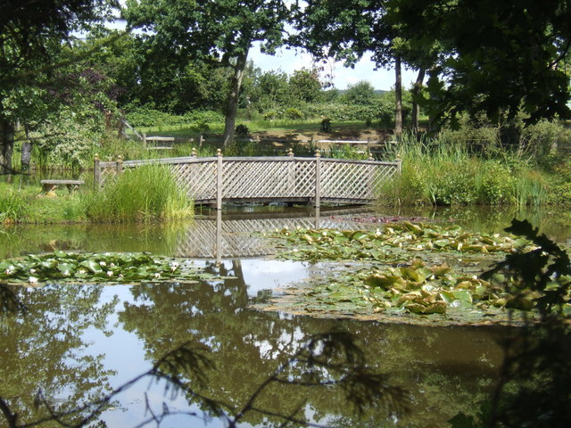 Ornamental Pond at Glyde's Farm