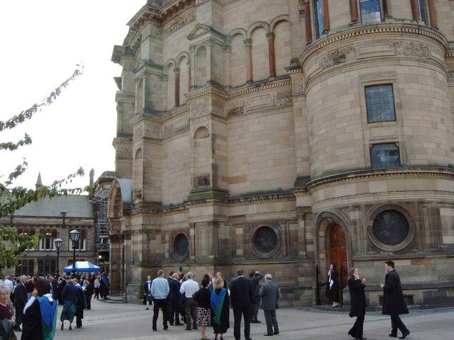 McEwan Hall, University of Edinburgh on graduation day