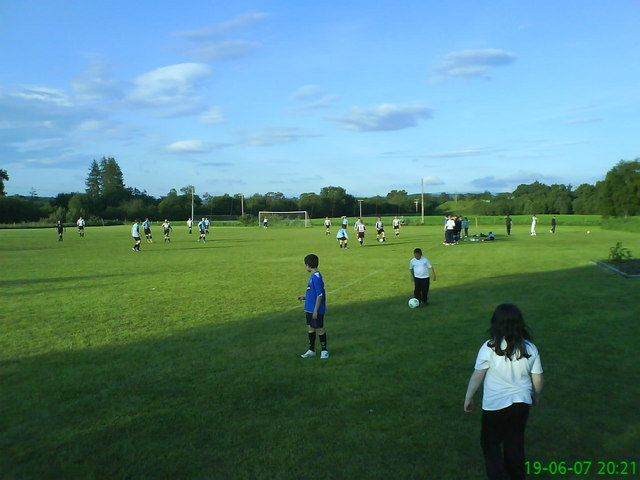 Carr-bridge public football pitch