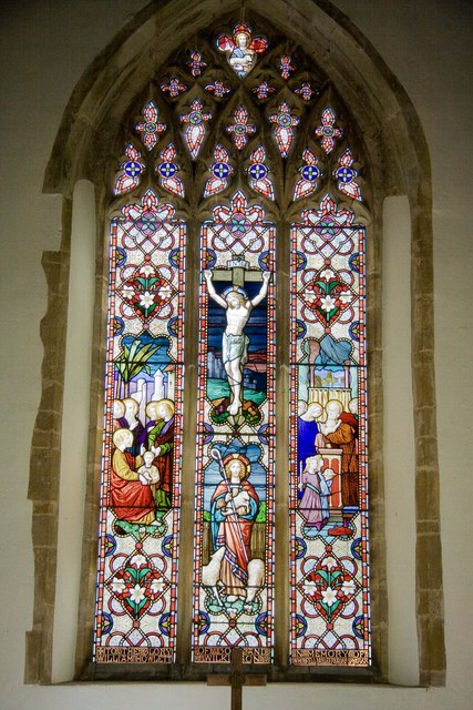 St Mary's Rickinghall Superior, East window