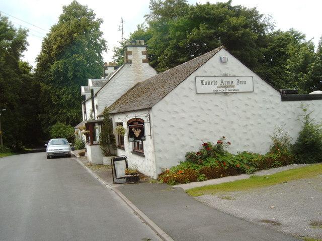 Laurie Arms Inn, in Laurieston