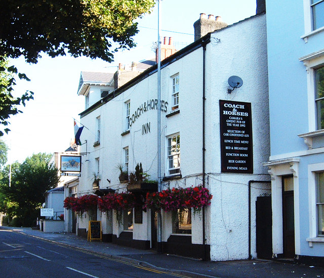 The Coach and Horses Inn in Welsh Street