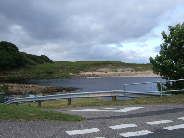 Mouth of the Brora River