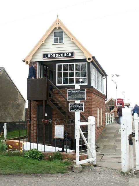 Lincolnshire Wolds Railway, Ludborough