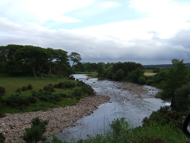 Upstream River Brora
