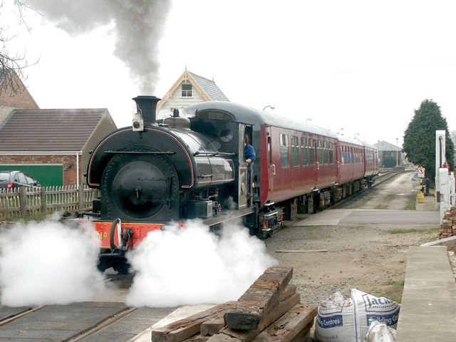 Lincolnshire Wolds Railway, Ludborough