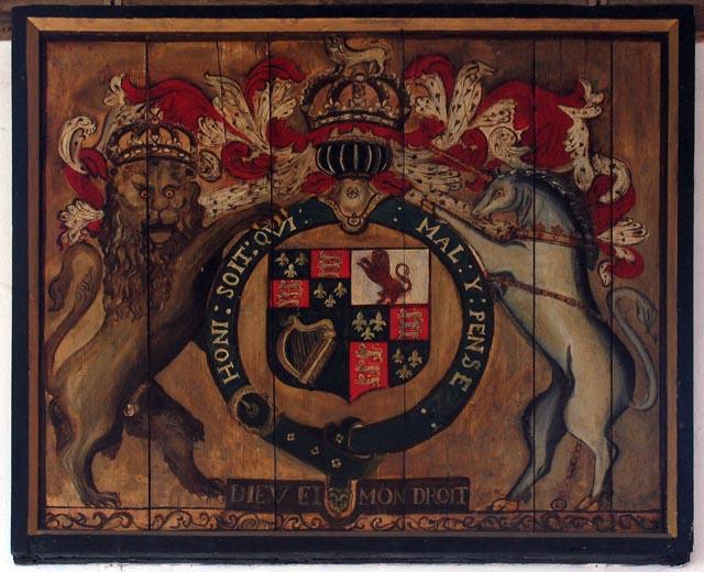 St John, Hoveton, Norfolk - Royal Arms