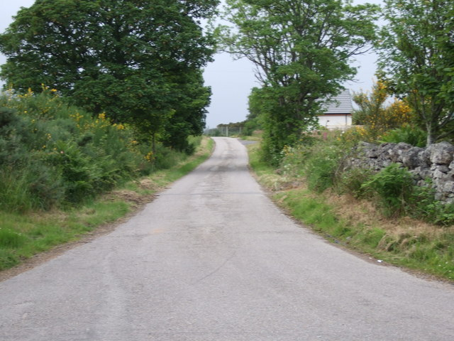 Lane to North Brora Muir