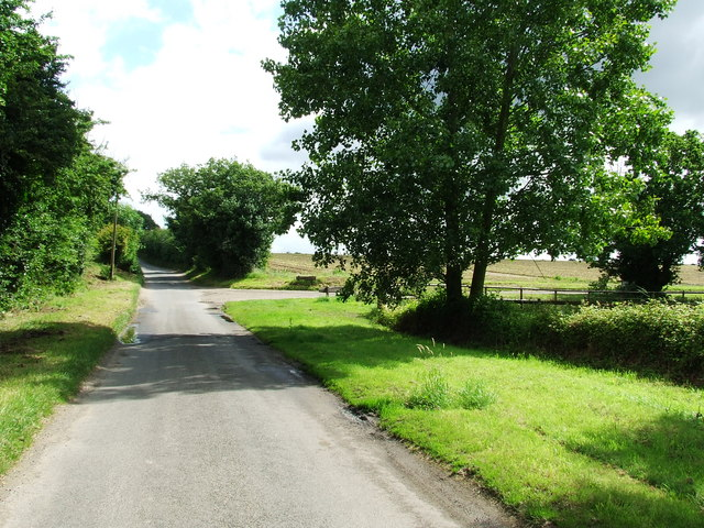 Entrance To Bylam Farm