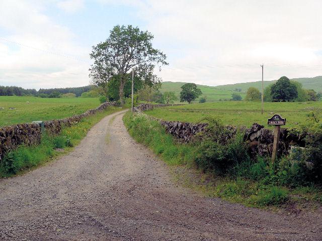 Lane to Laggan Park