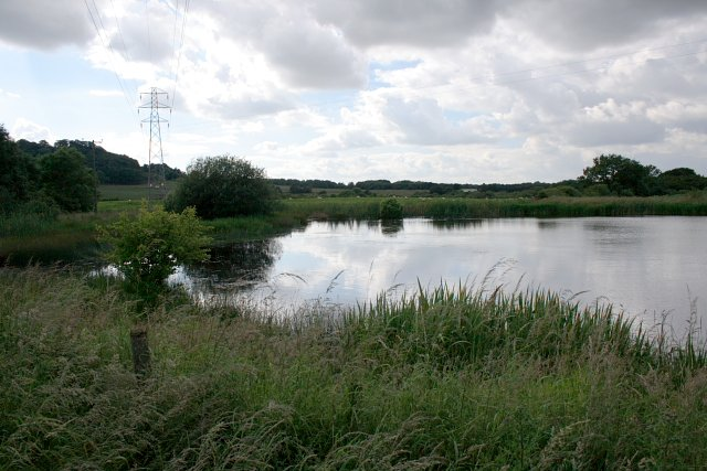 Pond Near Dunsdale Farm
