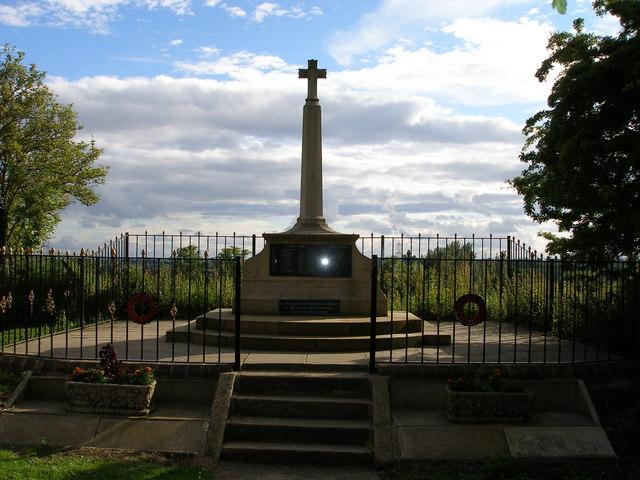 Egglescliffe War Memorial