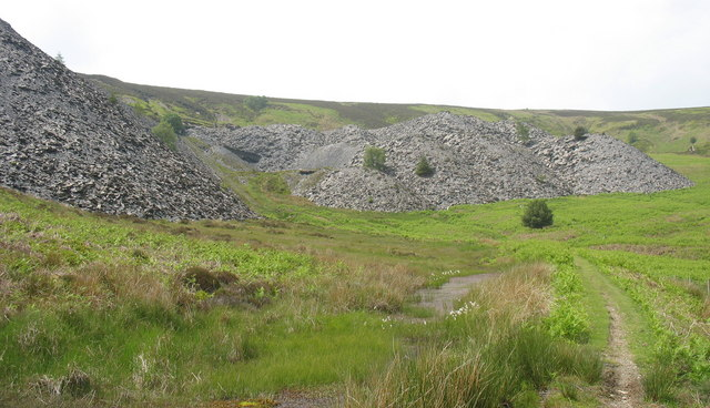 In its heyday this quarry employed 200 men