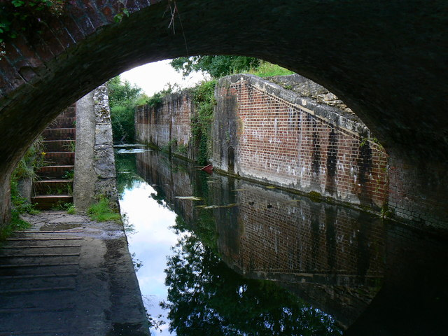 Wildmoorway Lower Lock, Thames and Severn canal, near South Cerney