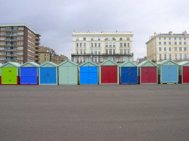 Beach Huts, Kings Esplanade