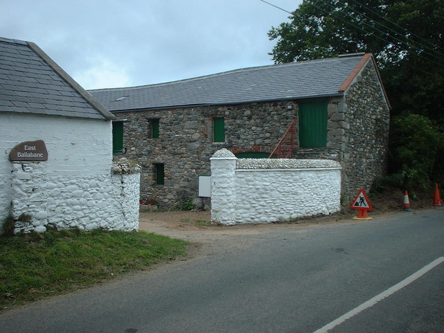 Farm buildings at Ballabane