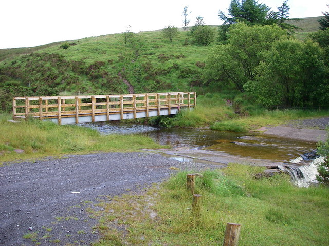 Crossings of Afon Llia