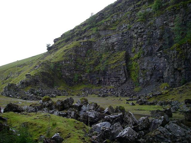 Fan Bwlch Chwyth Quarry