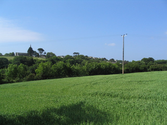View towards St Keverne
