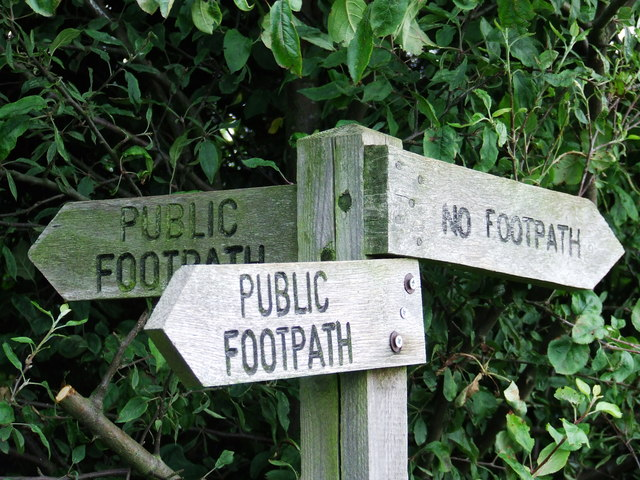 When A Footpath Is Not A Footpath