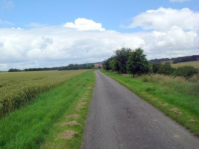 Drive to Grange farm