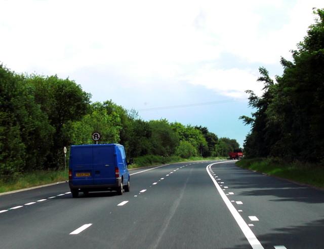 A465 Road Scene