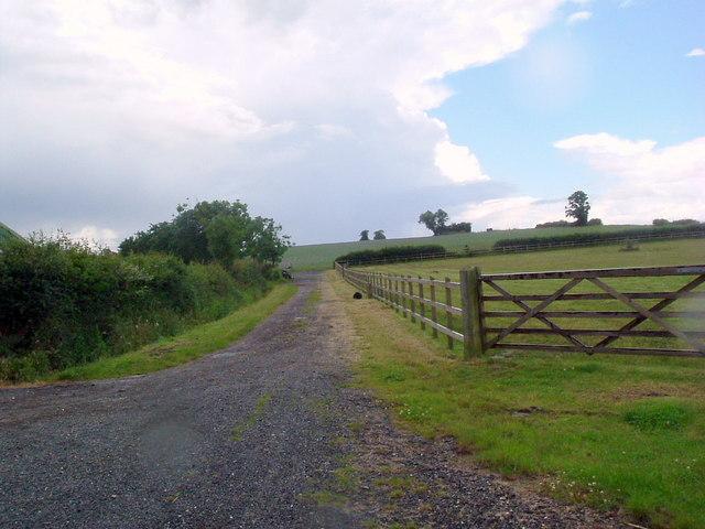 Track at Summerfield farm