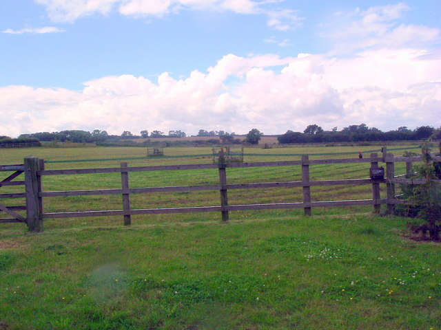 Looking southwest at Summerfield farm