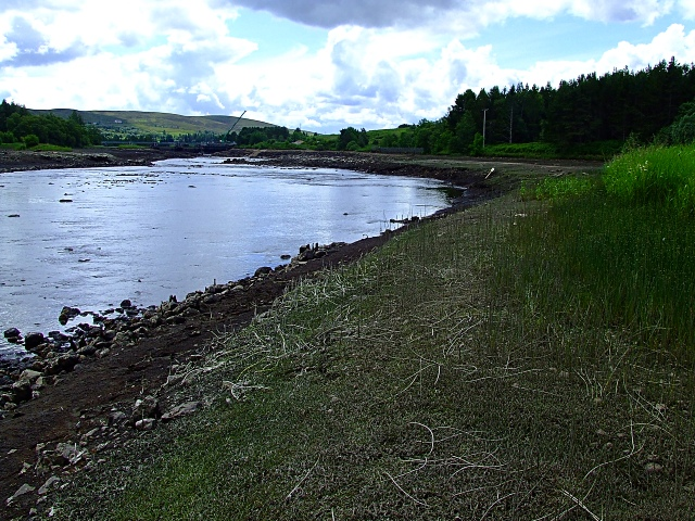 Little Loch Shin back to a River