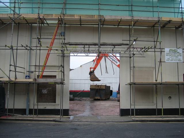 Demolition on Union Street #2