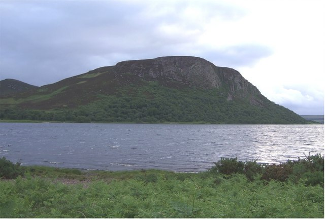 View across Loch Brora