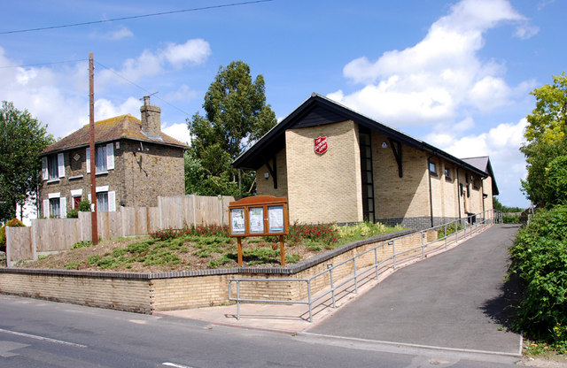 The new Salvation Army Hall, Tothill Street, Minster, Thanet, Kent