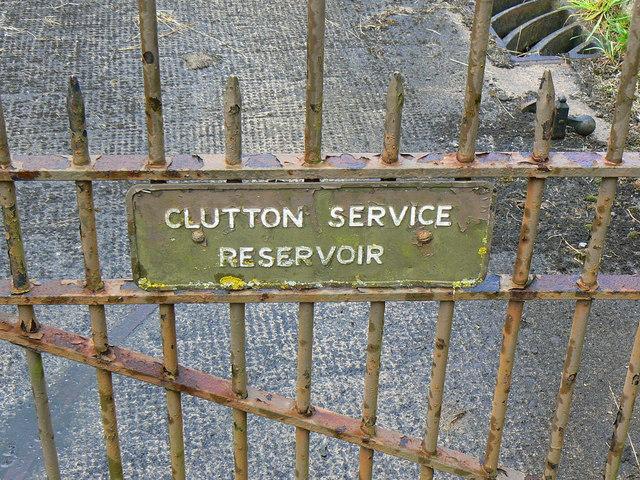 Water reservoir gate, Clutton