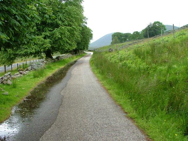 Old Road at Ledgowan