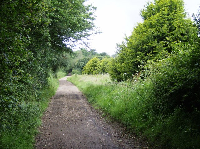 Byway east of Whitefield Forest