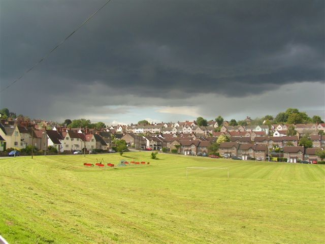 Thunderstorm over Chepstow