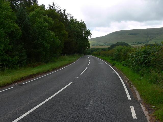 A4215 Road Scene