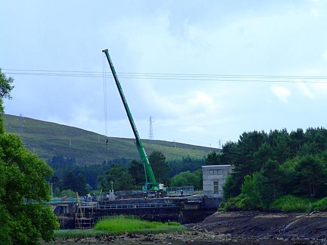 Little Loch Shin Dam